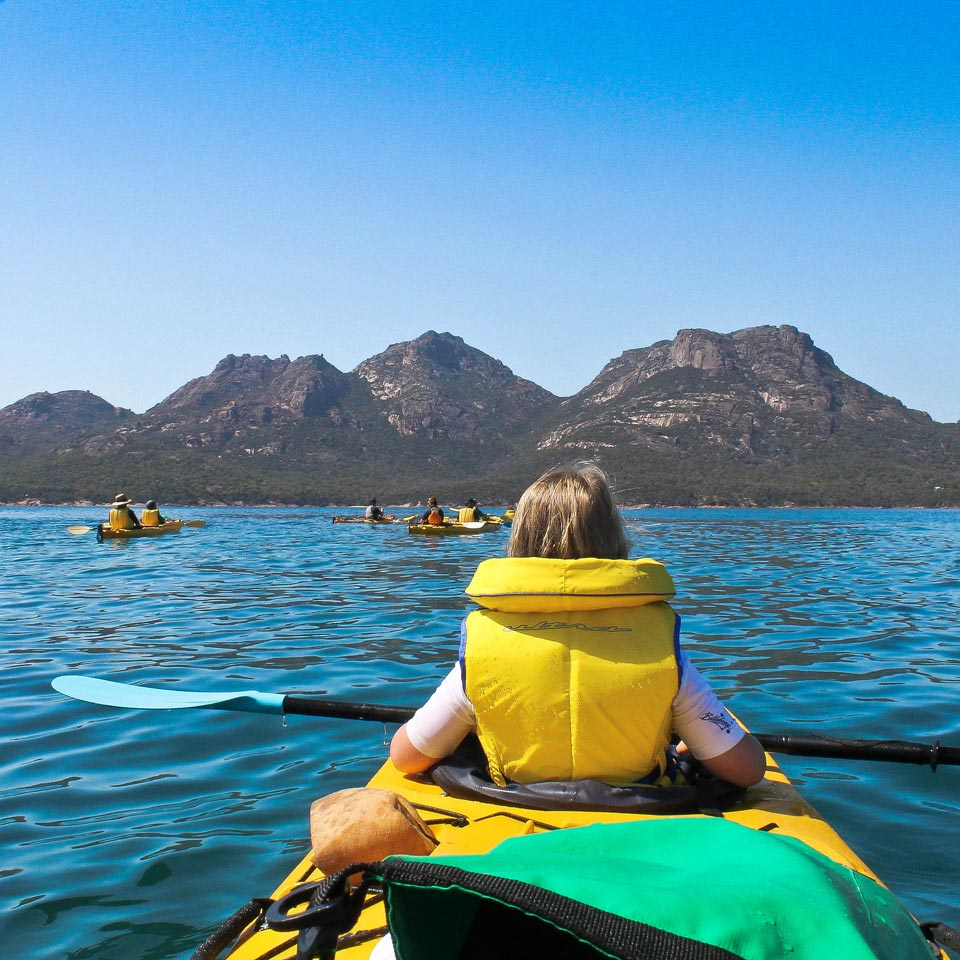Photo credit (Tourism Tasmania). Location displayed (Tasmania).