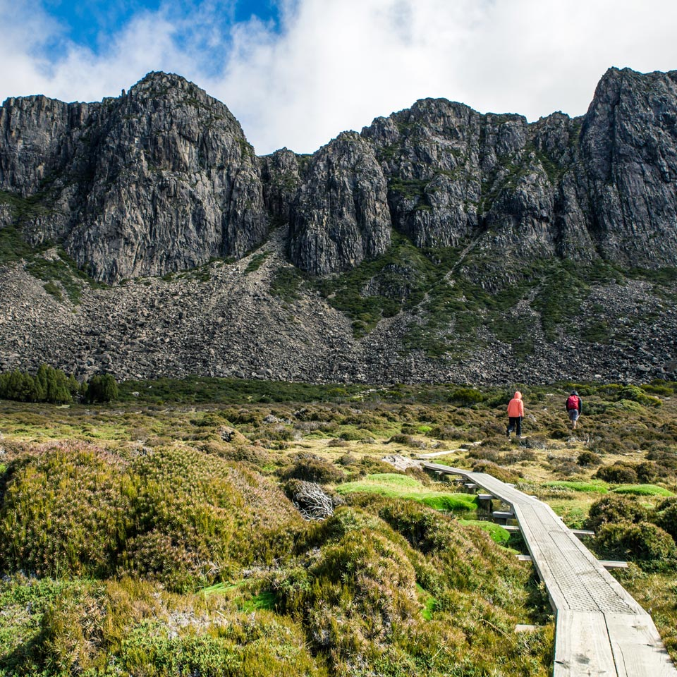 Photo credit (Tourism Tasmania). Location displayed (Jerusalem National Park, Tasmania).