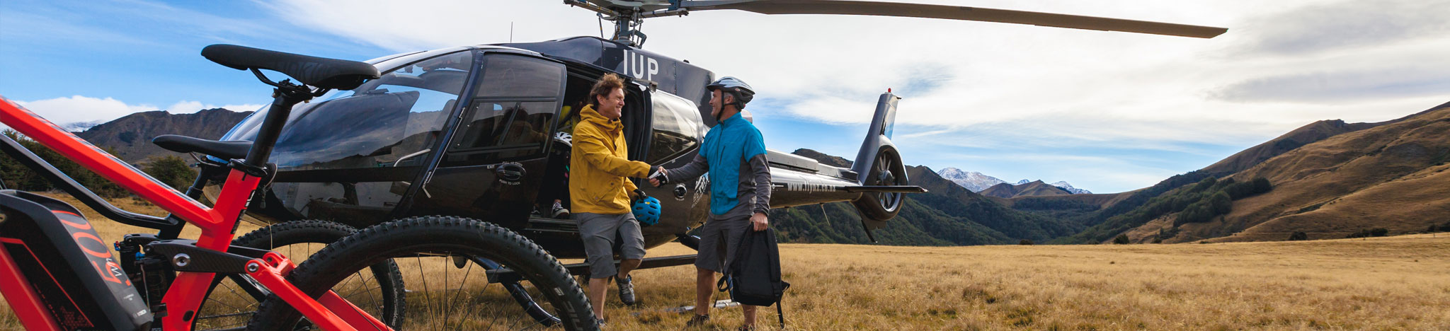 Heli Biking Vacations - Latitude South Luxury Travel