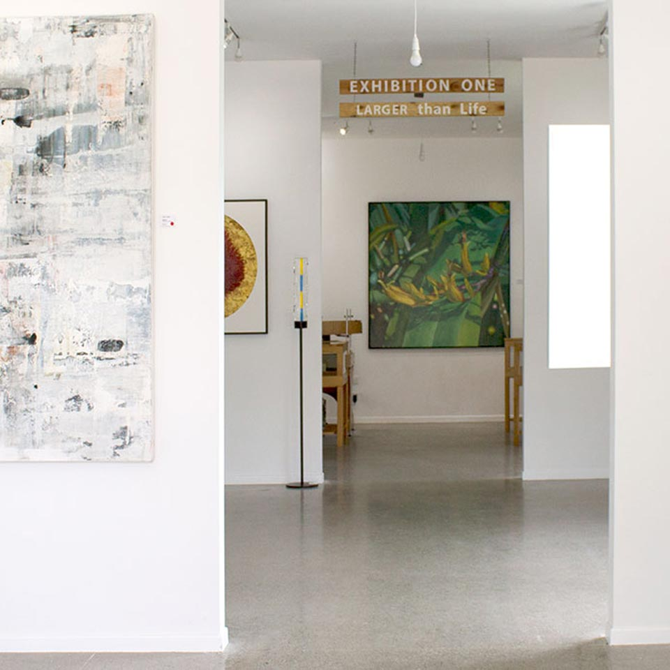 Location displayed (Kereru Art Gallery, Mapua).